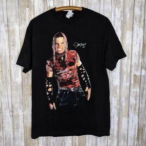 Vintage Jeff Hardy WWE Wrestling T-shirt Large